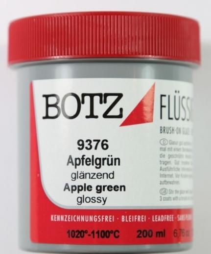 Botz Flüssigglasur 200ml apfelgrün