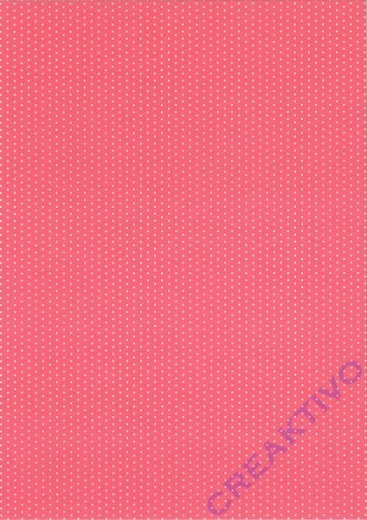 Pünktchen-Fotokarton DIN A4 rosa