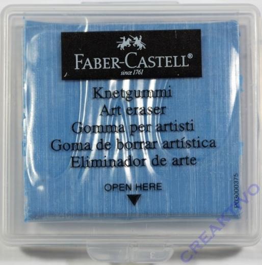 Knetradiergummi Art Eraser blau