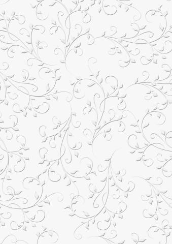 Bastelkarton Firenze geprägt 50x70cm weiß