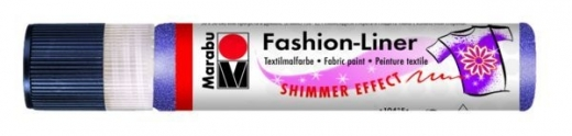 Marabu Fashion-Liner  25ml schimmer-lila