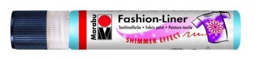 Marabu Fashion-Liner  25ml schimmer-himmelblau