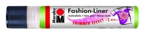Marabu Fashion-Liner  25ml schimmer-reseda