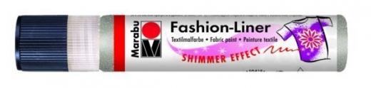 Marabu Fashion-Liner  25ml schimmer-silber