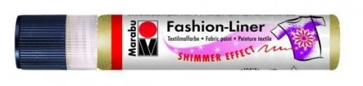 Marabu Fashion-Liner  25ml schimmer-gold