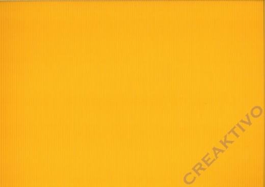Bastelwellkarton 50x70 cm sonnengelb