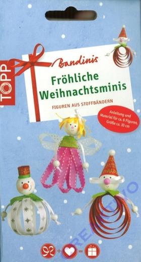 Bandinis - Fröhliche Weihnachtsminis Bastelset (Restbestand)