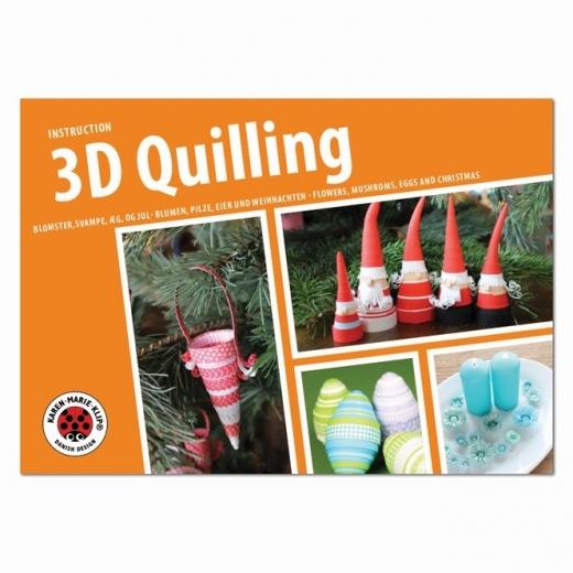 3D Quilling Anleitungsheft (Restbestand)