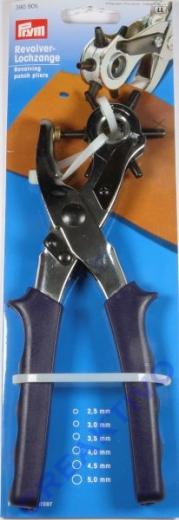 Revolver-Lochzange 2,5 - 5,0 mm