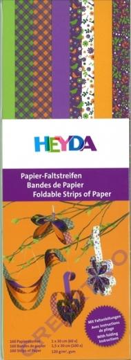 Papier-Faltstreifen Set 4 (Restbestand)