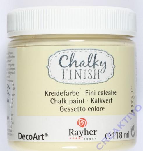 Chalky Finish 118ml - alabasterweiß