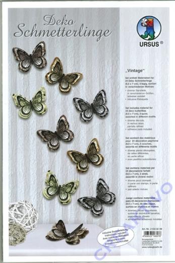 Deko Schmetterlinge Vintage