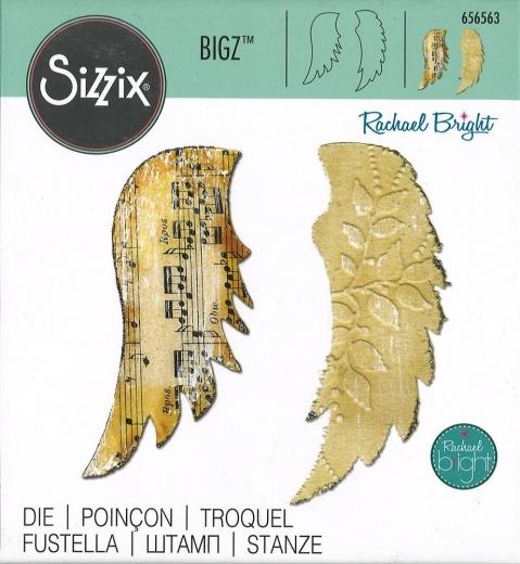 Sizzix Bigz Die - Wings, Angel