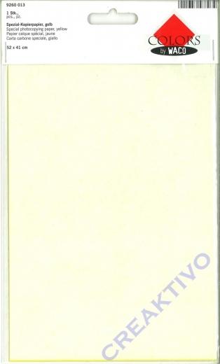 Spezial-Kopierpapier, gelb