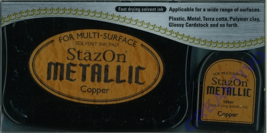 StazOn Stempelkissen Metallic Copper