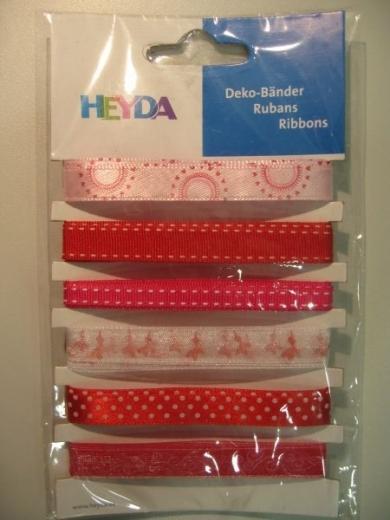 Heyda Deko-Bänder Herzen