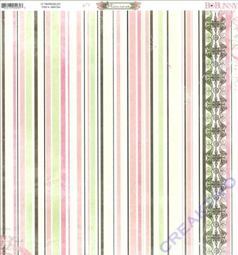 Scrapbooking Papier Primrose Joy (Restbestand)