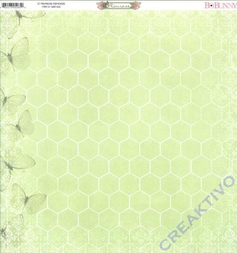 Scrapbooking Papier Primrose Memories (Restbestand)