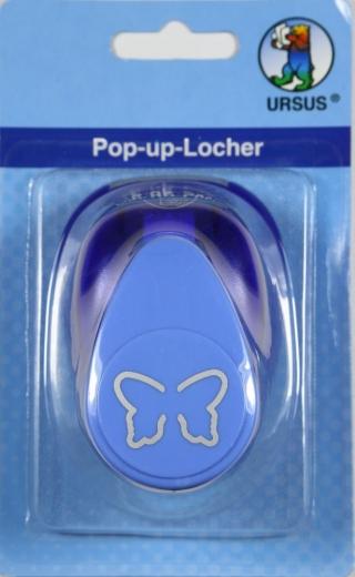 Hebel-Motivstanzer groß Schmetterling Pop up