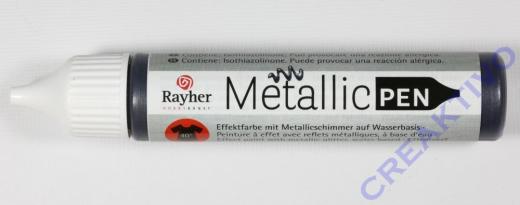 Rayher Metallic Effekt-Pen schwarz