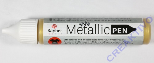 Rayher Metallic Effekt-Pen gold