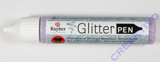 Rayher Glitter Effekt-Pen pink