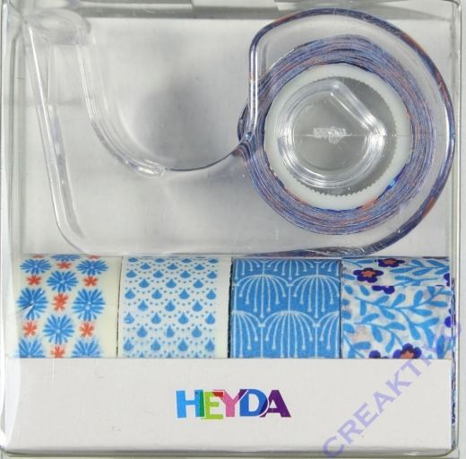 Heyda Deko Tapes Mini blau