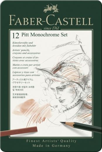 Set PITT Monochrome klein Metalletui