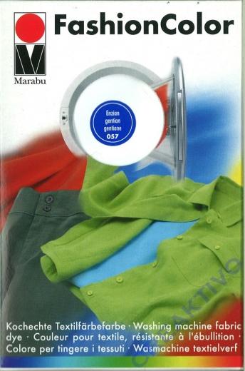 Marabu Fashion Color für die Waschmaschine - enzian