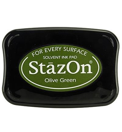 StazOn Stempelkissen Olive Green