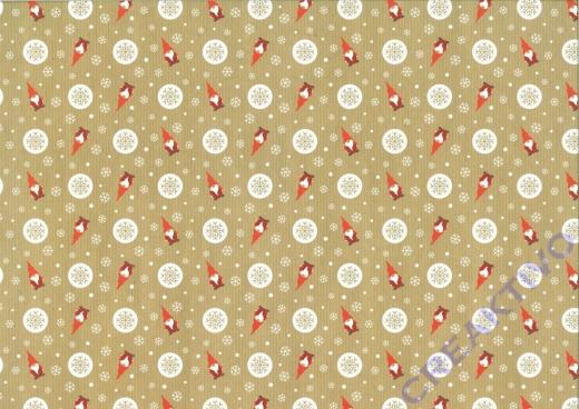 Motiv-Fotokarton 300g/qm 49,5x68cm Christmas Time Motiv 01