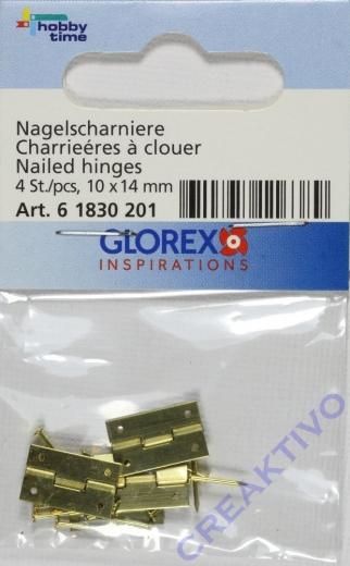 Nagelscharniere 10x14mm