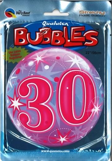Bubbleballon 30 pink