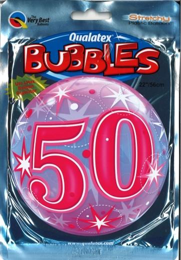 Bubbleballon 50 pink