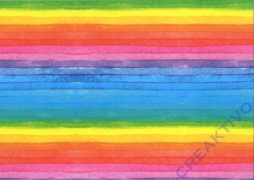 Motiv-Fotokarton 300g/qm 49,5x68cm Regenbogen