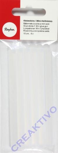 Klebesticks für Mini-Heißklebepistole 10cm 6 Stück