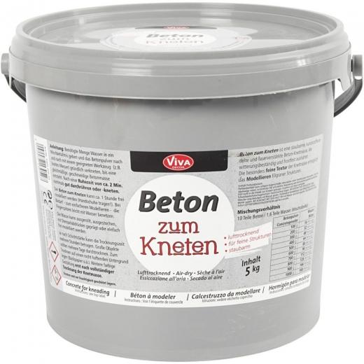 5kg Knetbeton (nur Abholung; Versand auf Anfrage)