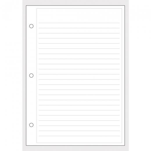 Notizzettel A5 basic