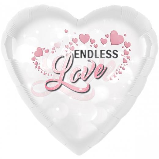 Folienherz Endless Love