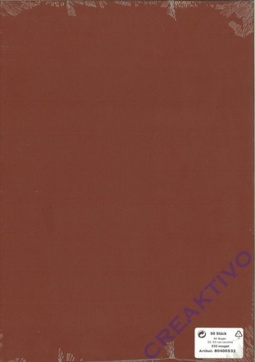 Briefbogen A4 210x297mm 90g nougat 50 Blatt (Restbestand)