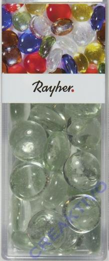 Glas-Nuggets kristall