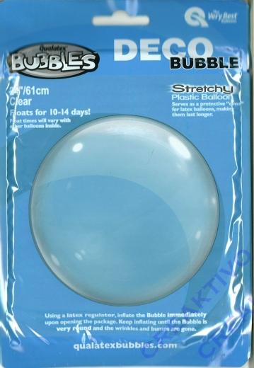 Deco Bubble Clear 24 61cm