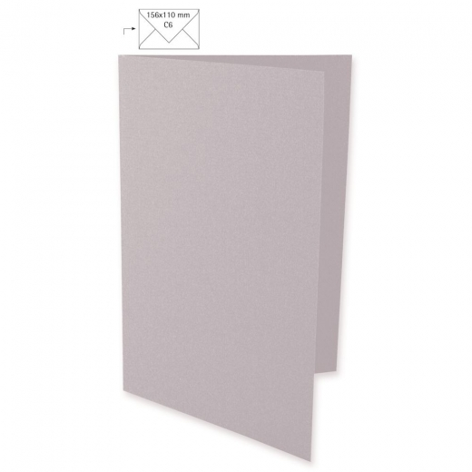 Karte A6 210x148mm 220g taupe
