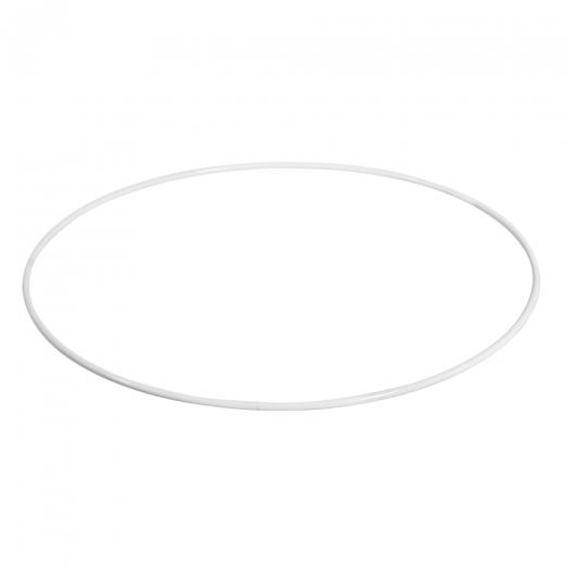 Metallring beschichtet weiß 50cm