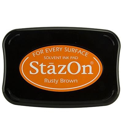 StazOn Stempelkissen Rusty Brown