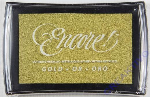 Encore! Pigment-Stempelkissen gold