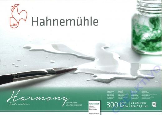 Hahnemühle Aquarellblock Harmony Din A4 satiniert