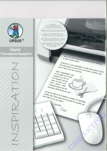 URSUS Digital Transparentpapier