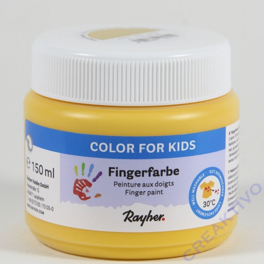 Fingerfarbe gelb