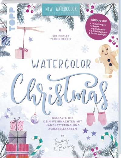 Topp 8345 - Watercolor Christmas